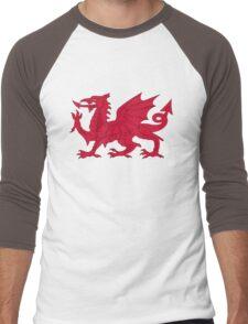 Wales Men's Baseball ¾ T-Shirt