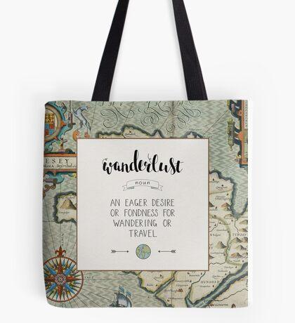 Wanderlust Definition Tote Bag
