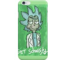 Rick and Morty - GET SCHWIFTY iPhone Case/Skin