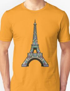 Eiffel Mosaic T-Shirt