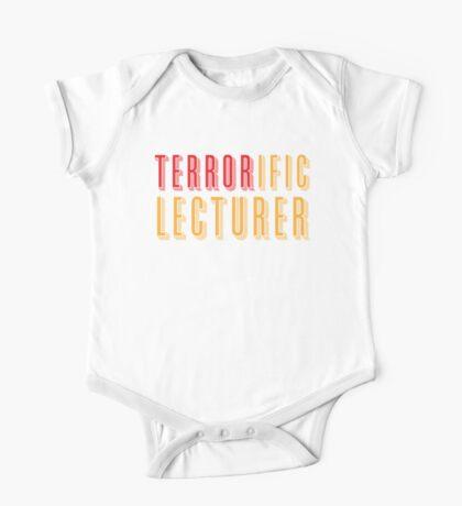 TERRORific lecturer One Piece - Short Sleeve