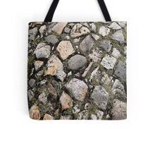 Rustic vintage French Cobblestone Tote Bag