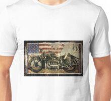 Road Warrior Vintage Motorcycle Unbound Unisex T-Shirt