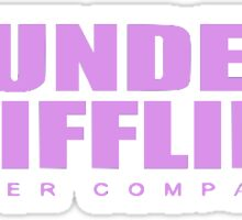Dunder Mifflin Inc Paper Company the Office Sticker