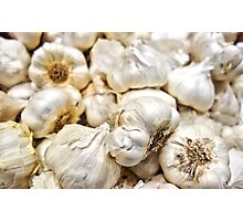 Garlic Cloves Photographic Print