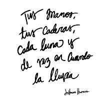 Quote, original Photographic Print