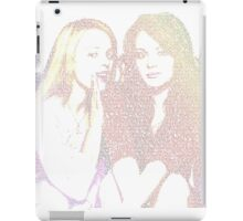 Mean Girls script (Rainbow) iPad Case/Skin