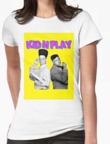 Kid n Play - House Party 2 Womens Fitted T-Shirt
