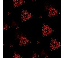 Sinister Digital Abstract Seamless Pattern Photographic Print