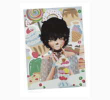 Parfait Sweets and Desserts Anime Baby Tee