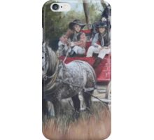 The Old Mail Coach (Cob & Co) iPhone Case/Skin