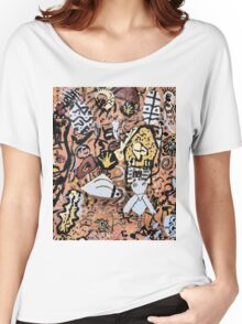 Indian Mural Women's Relaxed Fit T-Shirt