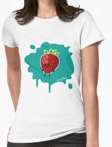 Früchtchen - Erdbeere mit Brille Womens Fitted T-Shirt