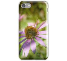Echinacea - textured iPhone Case/Skin