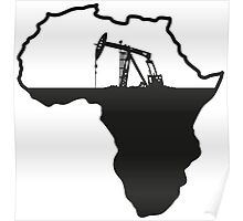Africa Oil Poster