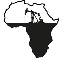 Africa Oil Photographic Print