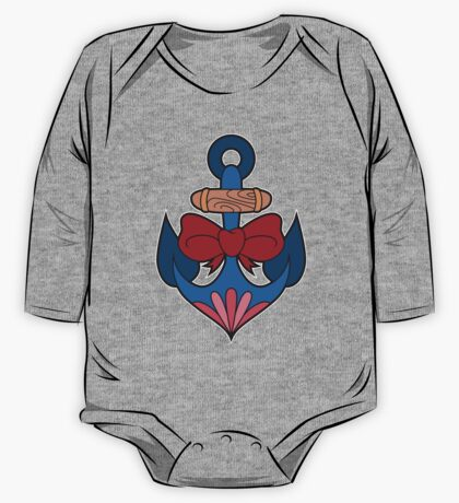 Traditional Anchor One Piece - Long Sleeve