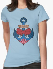 Traditional Anchor Womens Fitted T-Shirt