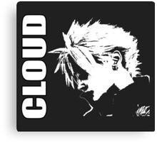 Cloud Strife - Final Fantasy VII Canvas Print