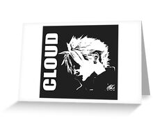 Cloud Strife - Final Fantasy VII Greeting Card