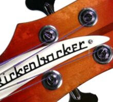 Rickenbacker bass guitar it' all about the bass Sticker