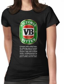 VB TASTING NOTES Womens Fitted T-Shirt