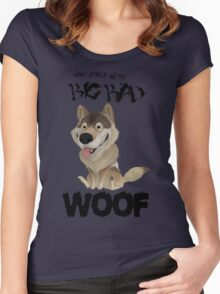The Big Bad WOOF Women's Fitted Scoop T-Shirt