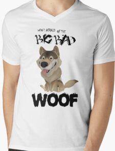 The Big Bad WOOF Mens V-Neck T-Shirt