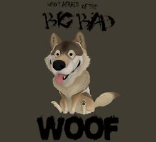 The Big Bad WOOF Womens Fitted T-Shirt