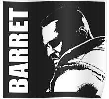 Barret - Final Fantasy VII Poster