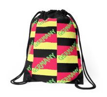 Germany flag Drawstring Bag