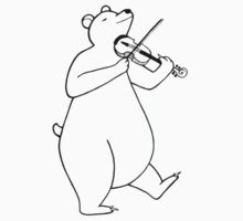 FiddlerBear One Piece - Short Sleeve