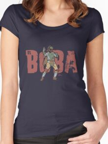 El Boba Women's Fitted Scoop T-Shirt