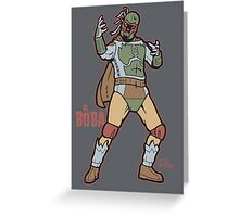 El Boba Greeting Card