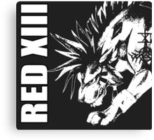 Red XIII - Final Fantasy VII Canvas Print