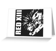 Red XIII - Final Fantasy VII Greeting Card