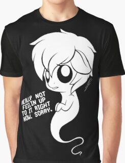 Undertale My Little Pony Nabstablook Graphic T-Shirt