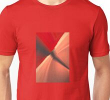 red shapes abstract Unisex T-Shirt