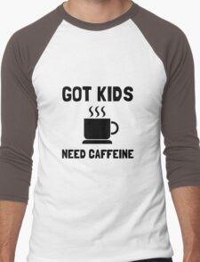 Got Kids Caffeine Men's Baseball ¾ T-Shirt