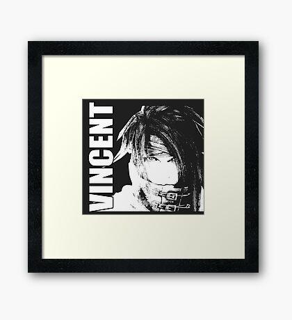 Vincent - Final Fantasy VII Framed Print