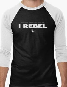 Star Wars : Rogue One - I Rebel - White Clean Men's Baseball ¾ T-Shirt