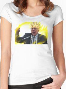 FEEL THE BERN SSJ2 Women's Fitted Scoop T-Shirt