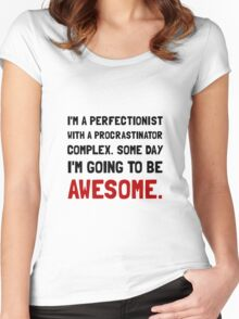 Procrastinator Awesome Women's Fitted Scoop T-Shirt