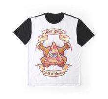 Hail Pizza Graphic T-Shirt