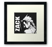 Zack - Final Fantasy VII Framed Print