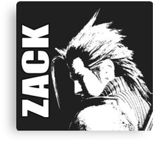 Zack - Final Fantasy VII Canvas Print