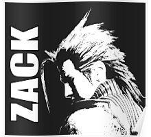 Zack - Final Fantasy VII Poster