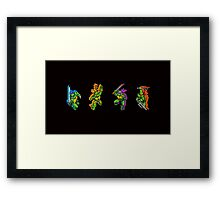 Select Your Turtle Framed Print