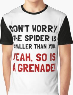 Spider Grenade Graphic T-Shirt