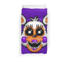 Lolbit - FNAF World - Pixel Art Duvet Cover